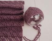 Set wrap and bonnet