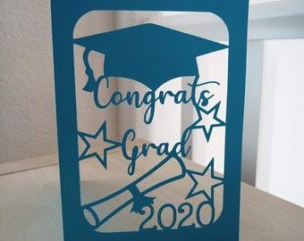 Graduation Card Svg Etsy