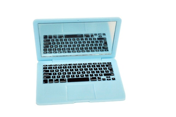 Blue Mini Laptop Compatible With 18 Inch American Girl Dolls