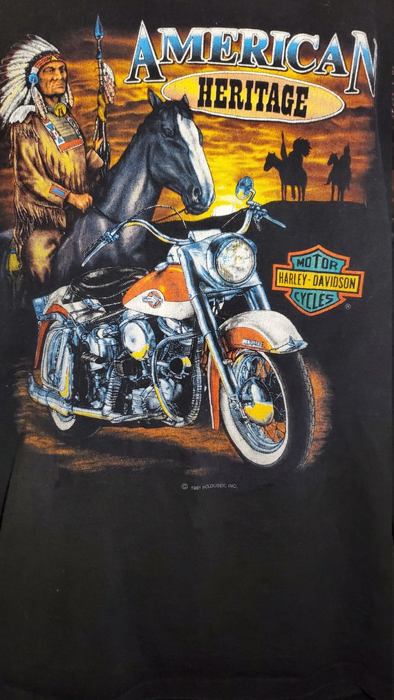 Harley Davidson Vintage Shirt