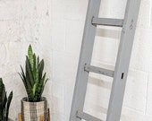 Towel Rail Ladder Vintage Rustic Wedding Decor - Bathroom Storage