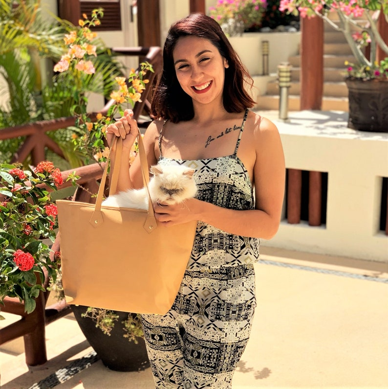 Vanessa Tote  END of SUMMER SALE 30% Off Light Tan