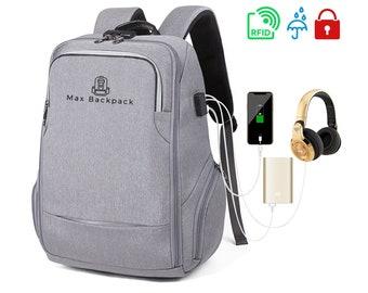 b46c6badb001 Computer backpack | Etsy