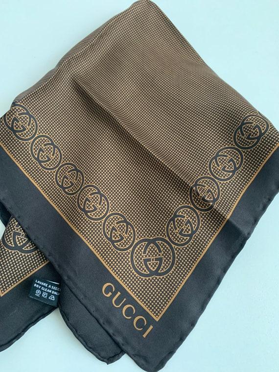Gucci, men's bandanna/woman in silk