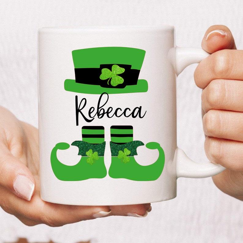 PERSONALIZED St. Patrick's Day Mug  Saint Patrick's image 0