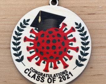 Class of 2021 - Christmas ornament - 2021 Graduation Ornament