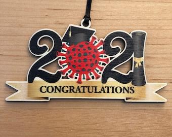 2021 Graduation Ornament - Christmas ornament
