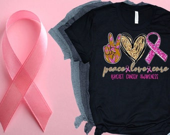 Breast Cancer Awareness, Peace Love Cure