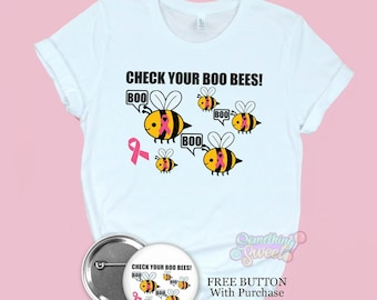 Check Your Boo Bees, Breast Cancer Awareness