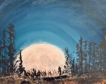 Art by Me: Magical Moonrise