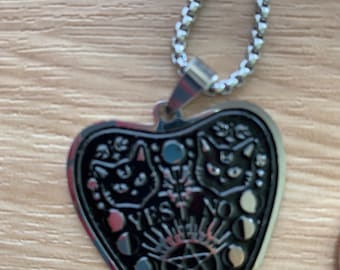 Ouija Planchette Charm Necklace