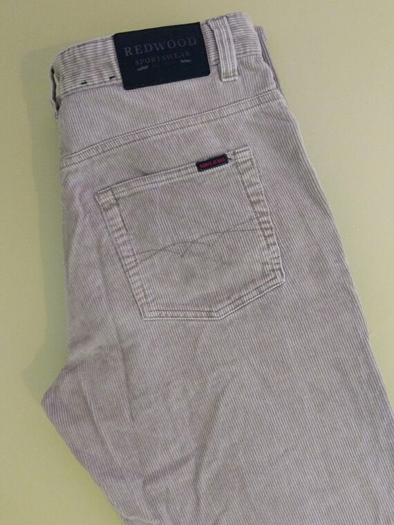 Mens cord jeans