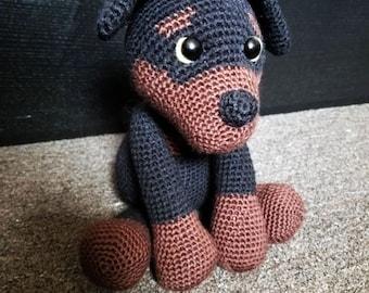 Ravelry: Rottweiler puppy pattern by Rosaura Valdez | 270x340