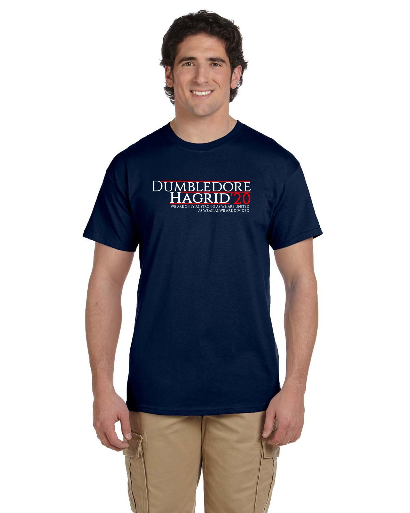 Dumbledore and Hagrid election t-shirt for 2020
