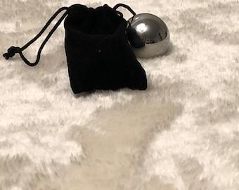 Sound ball in velvet bag 4 cm