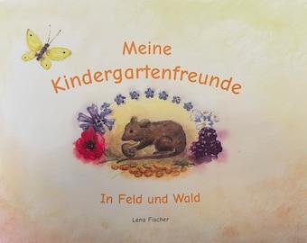 My Kindergarten Friends - Friends Book for Kindergarten