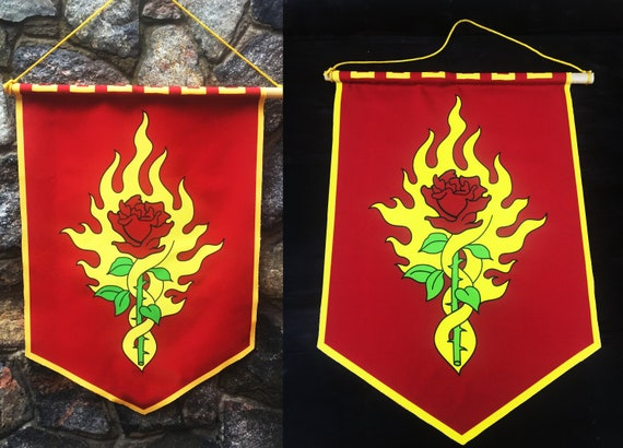 30+ Order Of The Flaming Rose Logo Background