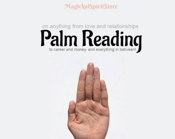 Palm Reading on anything from love and relationships to career and money and everything in between!
