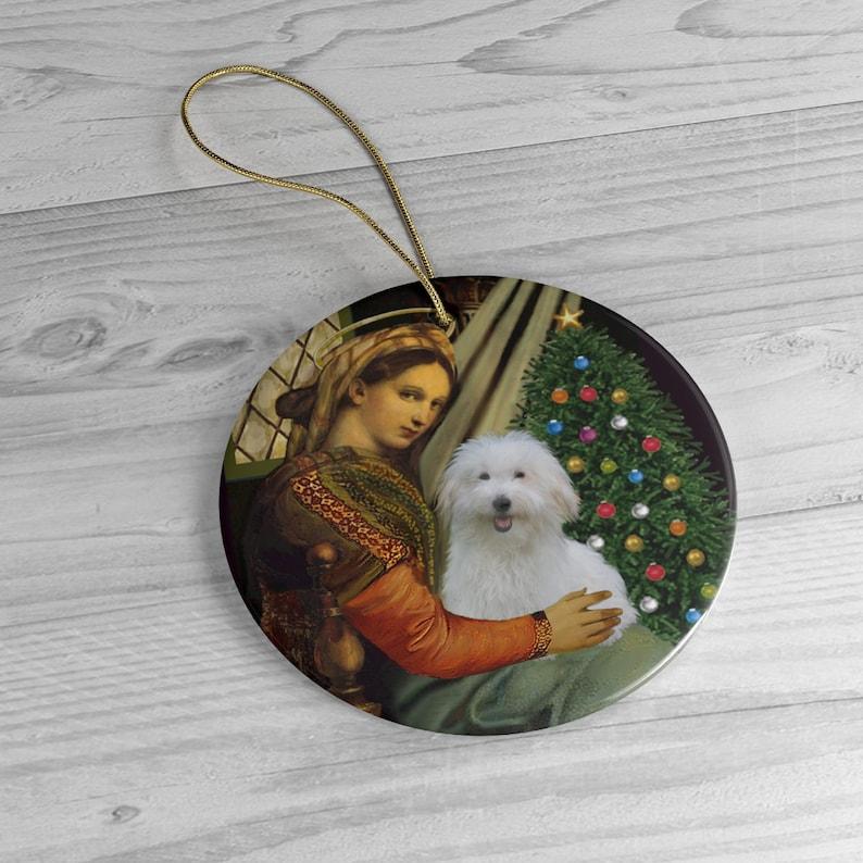 A Coton de Tulear in the Famous Madonna... image 0