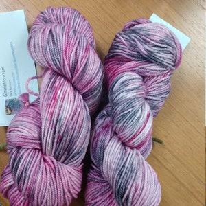 /'Fernwood/' 100/% Lincoln X wool Hand dyed Yarn DK weight 2 ply