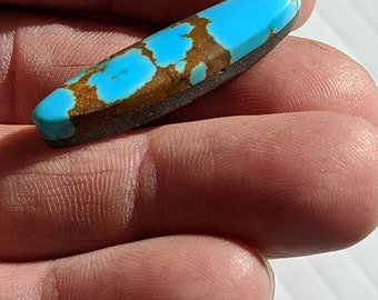 -All Natural Number 8 Turquoise 11 cts Finished Cabochons 0405