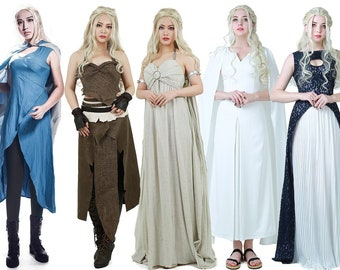 Daenerys Targaryen Costume For Girl Khaleesi Dress Game Of
