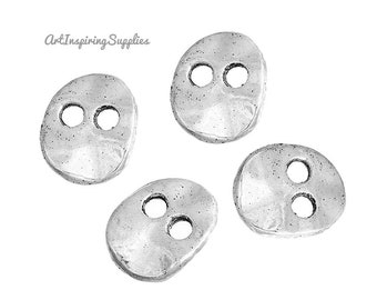 "50 /""TEARDROP/"" Shape IMITATION  SHELL Button 5//8/"" X 1//4/"" 2 hole"