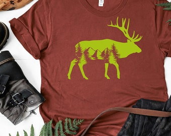 THE DEER HUNTER T SHIRT MOUNTAIN UNISEX VINTAGE TSHIRT ELK HUNT FREE SHIP NEW!/'