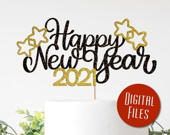 Hello 2019 svg,New year svg,New year/'s eve,Silhouette cameo,Cricut files,Svg cut files,New year shirt,New year cake topper,DXF,VINYL FILE,Ai