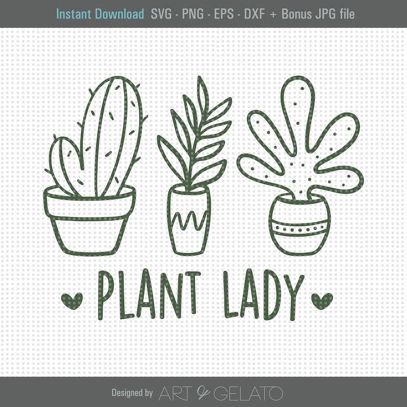 Download Plant Lady SVG Plant Mom Svg Plant Lover Svg Crazy Plant ...