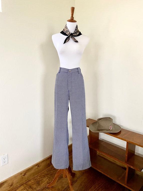 "Vintage Big ""E"" Levis White Tab Tailored Pants"