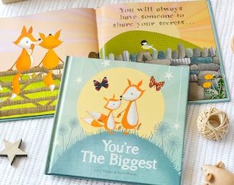 You're The Biggest Children's Book | Keepsake Book | Sibling Book | Older Sibling | Big Brother | Big Sister |
