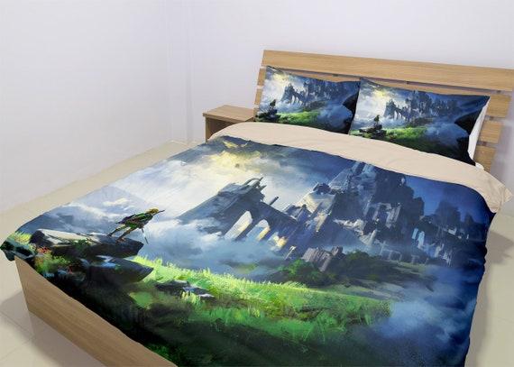 The Legend Of Zelda Bedding Set Zelda Duvet Breath Of The Wild Comforter Twin Queen King Sizes Comfortable Home Decor Gift For Birthday