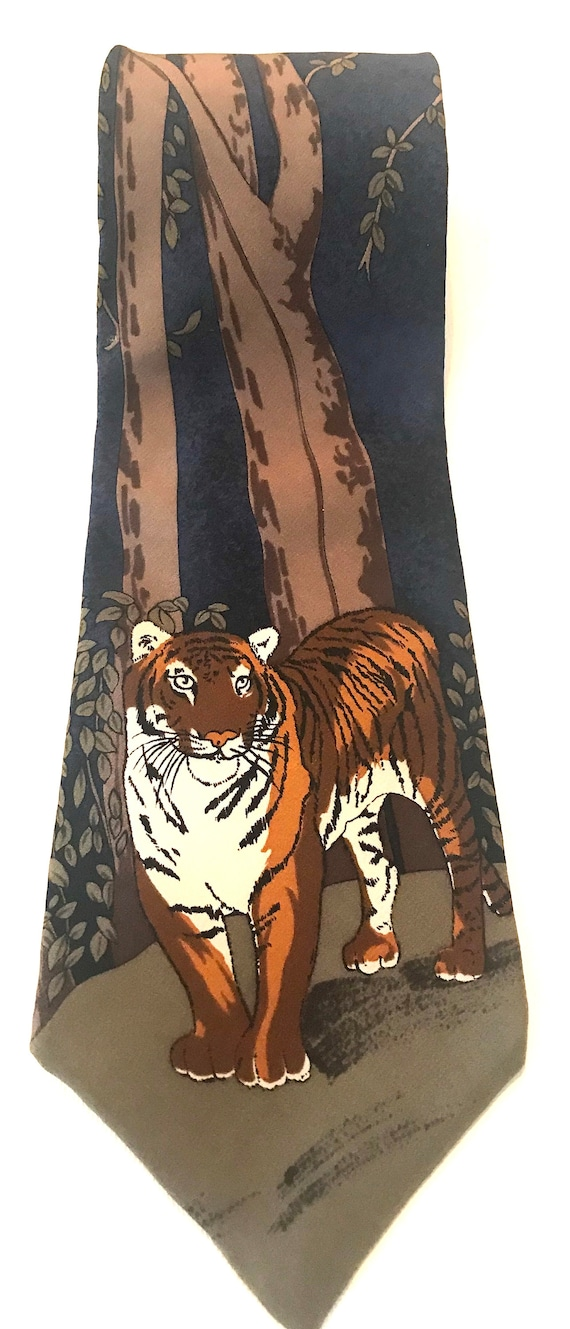 1991 Tiger Necktie by WWF