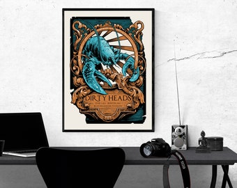 Dirty Heads New Custom Personalized Art Print Poster Wall Decor