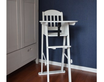 Astonishing Wood Highchair Etsy Gmtry Best Dining Table And Chair Ideas Images Gmtryco