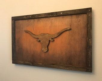 Charmant Texas Longhorn Decor | Etsy