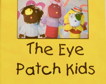 The Eye Patch Kids DVD/amblyopia/children's dvd/lazy eye/eye patch/patching kids/strabismus/musical dvd/resource for helping children patch