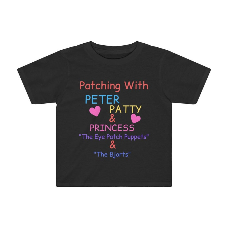 Eye Patch T-Shirt Amblyopia Strabismus Lazy Eye Vision image 0