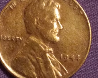 What is a 1944 copper penny worth today