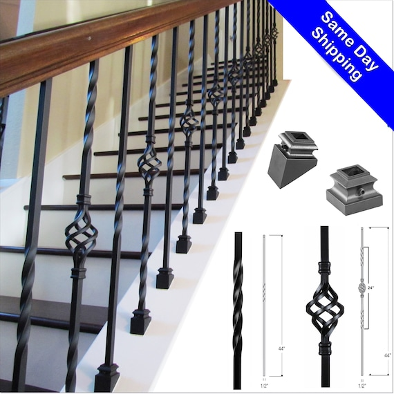 Iron Balusters Iron Stair Parts Iron Stair Railing Parts