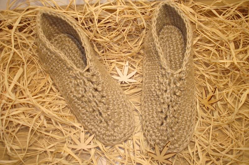 6. Hemp Sock Slippers by Hemp Made In UA.