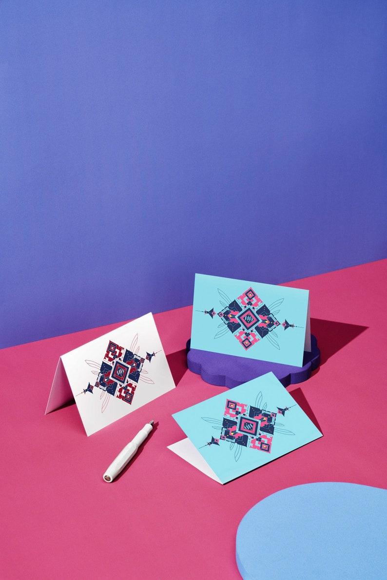 Honey Dijon Creator Collab  Blank  Greeting Card with image 0