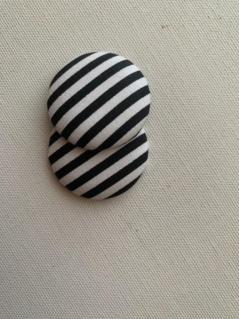 Button Earrings Earrings