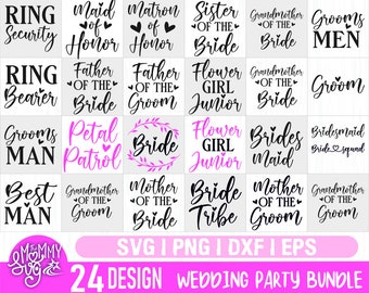 I Said Yes SVG file Bride Sayings Bridesmaid Quotes Bride Svg for Cricut INSTANT DOWNLOAD Bridesmaid Shirt Wedding Iron on Transfer n627