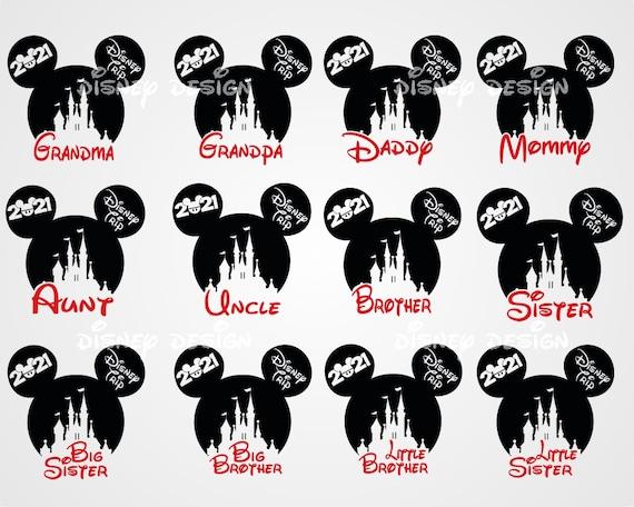 Disney Family Trip SVG  Disney Castle Ears SVG  Disney Trip SVG  Disney Cut File  Instant download design for cricut or silhouette