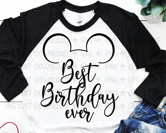 Disney castle SVG Best Day Ever SVG for cricut Disney world trip print for t-shirt Mickey head SVG