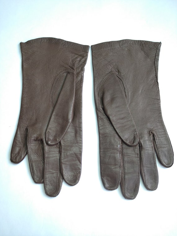 Soviet gloves, vintage gloves, thin demi-season gl
