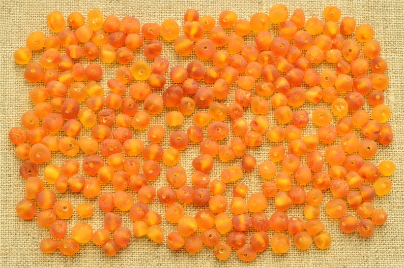 Small Beads 4-6mm Baltic Amber Honey Color Jewelry Supplies Beads 10 Grams Raw Natural Amber Beads BQ 80-120 Psc