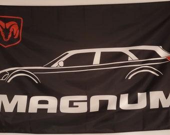 pair Hood vinyl sticker decals emblem Dodge Ram 318 V8 Magnum 5.2L PERFORMANCE